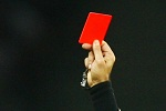 A red card